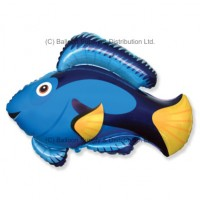 Jumbo Blue Fish Shape Balloon