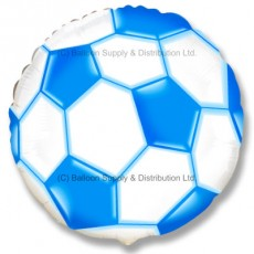 "18"" Football Balloon - Blue"
