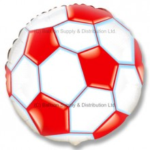 "18"" Football Balloon - Red"