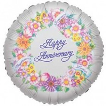 "18"" Anniversary Greetings Balloon"