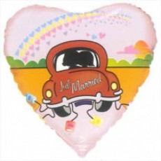 "18"" Just Married Car Balloon"