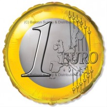 "18"" Euro Coin Balloon"