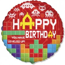 "18"" Birthday Bricks Balloon"