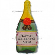 Jumbo Champagne Bottle Shape Balloon