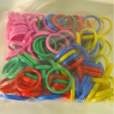 Bangle Balloon Weights - 100 Pack Assortment