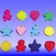 Standard Balloon Weights - 100 Pack Assortment