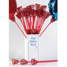 Magic Balloon Wand - Clear (Cup and Stick for 18 Foils) - Pack 10