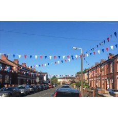 Pennant Banner Bunting Multicolour 60ft (18m)