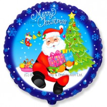 "18"" Santa Gifts Balloon"