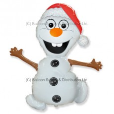 Jumbo Christmas Snowman Shape Balloon