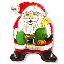 Jumbo Christmas Super Santa Shape Balloon
