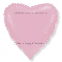 "18"" Decor Pastel Pink Heart Balloon"