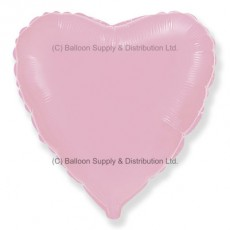 "32"" Decor Pastel Pink Heart Balloon"