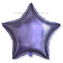 "18"" Decor Metallic Lilac Star Balloon"