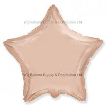 "18"" Decor Rose Gold Star Balloon"