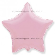 "18"" Decor Pastel Pink Star Balloon"