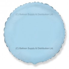 "18"" Decor Pastel Blue Round Balloon"