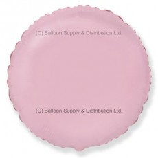 "18"" Decor Pastel Pink Round Balloon"