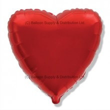 "18"" Decor Red Heart Balloon"