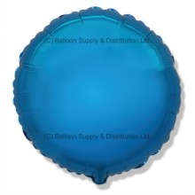 "18"" Decor Blue Round Balloon"