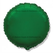 "32"" Decor Green Round Balloon"