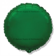 "18"" Decor Green Round Balloon"