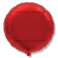 "18"" Decor Red Round Balloon"