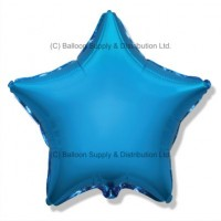 "18"" Decor Blue Star Balloon"