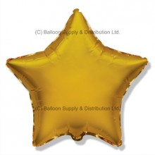 "18"" Decor Gold Star Balloon"