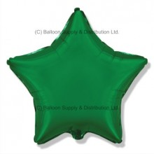 "32"" Decor Green Star Balloon"