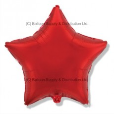 "18"" Decor Red Star Balloon"