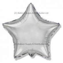 "32"" Decor Silver Star Balloon"