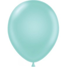 "11"" Tuf-Tex Pearlised Seafoam Decorator Balloons - 72-Pack"