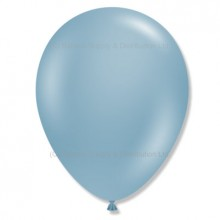 "5"" Tuf-Tex Naturals Blue Slate Decorator Balloons - 50-Pack"