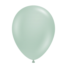 """11"""" Tuf-Tex Vintage Empower-Mint Decorator Balloons - 72-Pack - SOLD OUT - MORE STOCK DUE 26 MAY, 2021"""