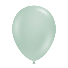 """11"""" Tuf-Tex Vintage Empower-Mint Decorator Balloons - 72-Pack - SOLD OUT - Awaiting production information"""