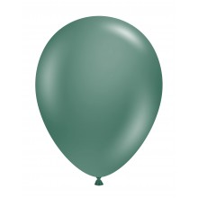 "11"" Tuf-Tex Naturals Evergreen Decorator Balloons - 72-Pack"
