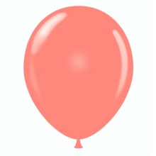 "11"" Tuf-Tex Pastel Coral Decorator Balloons - 72-Pack - OUT OF STOCK, More due soon."