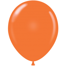 "11"" Tuf-Tex Standard Orange Latex Decorator Balloon - 72-Pack"
