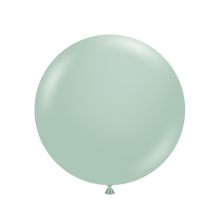 """24"""" Tuf-Tex Vintage Empower Mint Decorator Balloons - 25-Pack - SOLD OUT - UNAVAILABLE - AWAITING PRODUCTION DATES"""