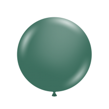 "24"" Tuf-Tex Naturals Pastel Evergreen Decorator Balloons - 25-Pack"