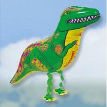 Walking-Pet T-Rex Dinosaur Balloon