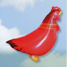 Walking-Pet Hen Balloon