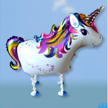 Walking-Pet Unicorn Balloon