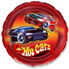 "18"" Hot Cars Balloon"