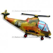 Jumbo Military Helicopter Shape Balloon
