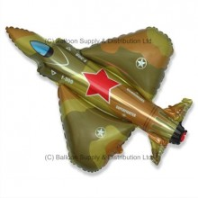 XL Jumbo Superfighter Military Shape Balloon
