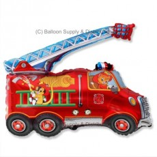 Jumbo Fire Engine Shape Balloon