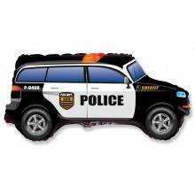 Jumbo Police Car Shape Balloon