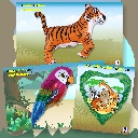 Packaged Animals, Birds & Insects Balloons